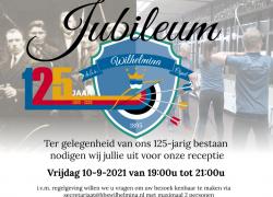 Uitnodiging Jubileum. - HBS Wilhelmina Ospel