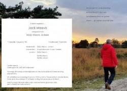 Overlijdensbericht Jack Meevis - HBS Wilhelmina Ospel